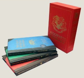The Hogwarts Library Collection. UK First Edition Boxed Set. JK