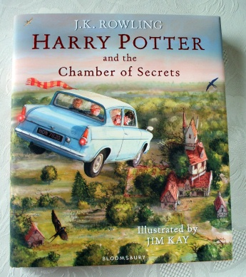 Harry Potter Chamber of Secrets Illustrated 1st Edition Jim Kay