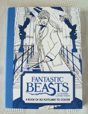 Harry Potter. Fantastic Beasts Postcard Colouring Book 1st Ed