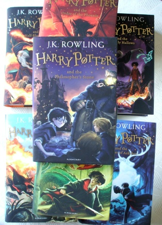 Harry Potter JK Rowling Bloomsbury Updated 2014 Hardback 7 Books