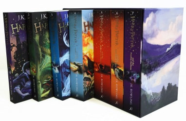 Harry Potter JK Rowling Bloomsbury Updated 2014 Paperback 7 Book