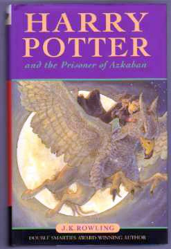 Harry Potter, J K Rowling, Azkaban First Edition 2nd Print