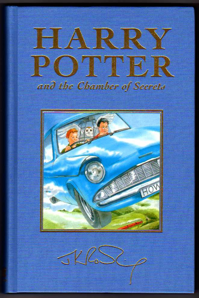 Harry Potter and the Chamber of Secrets. UK Deluxe First Edition