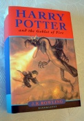 Harry Potter and the GOBLET of FIRE UK First Edition