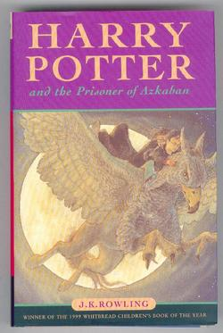 Harry Potter & the Prisoner of Azkaban. UK H/B Edition
