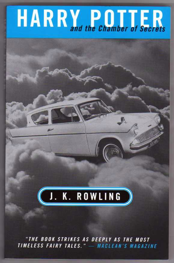 Harry potter and the Chamber of Secrets. Canadian First Edition.