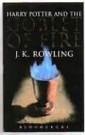 Harry Potter and the Goblet of Fire (Adult Cover) UK 1st Ed. P/B