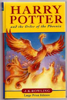Harry Potter and the Order of the Phoenix. UK 1st Large Print Ed