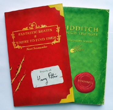 Harry Potter 2 First Edition, First Print Signed School Books