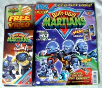BUTT-UGLY MARTIANS Original (Just) UK Comic Issues 1-10