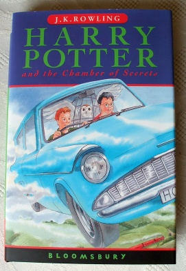 Harry Potter & the Chamber of Secrets Signed 1st Edition.
