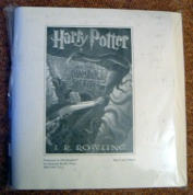 J.K. Rowling. Harry Potter and the Chamber of Secrets BRAILLE Ed