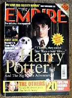 Empire Magazine #150 Harry Potter and the Philosophers Stone.