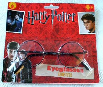 Harry Potter Eyeglasses. New & Sealed on Card.