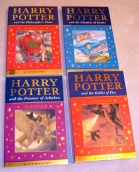 Harry Potter Celebration Collection. All UK First Editions.