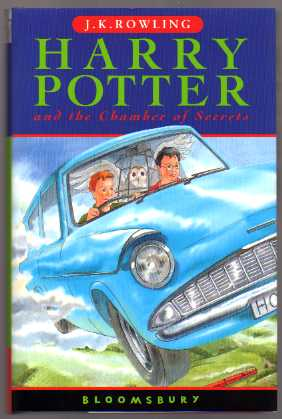Harry Potter and the Chamber of Secrets. UK 1st HB/HC