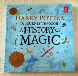 Harry Potter A Journey Through A History of Magic. Paperback 1st