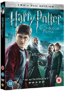 Harry Potter and the Half-Blood Prince DVD UK PAL Region 2
