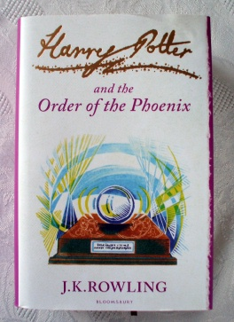 Harry Potter & Order of Phoenix Signature Edition HB First