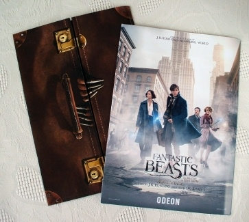 Fantastic Beasts And Where To Find Them Souvenir Ticket Holder