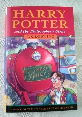Joanne Rowling Harry Potter Philosophers Stone 1st Edition 13th.