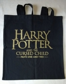 Harry Potter & the Cursed Child. Uk First. With Rare Tote Bag!