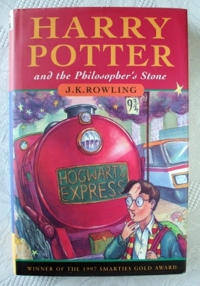 Joanne Rowling Harry Potter Philosopher's Stone 1st Edition 13th