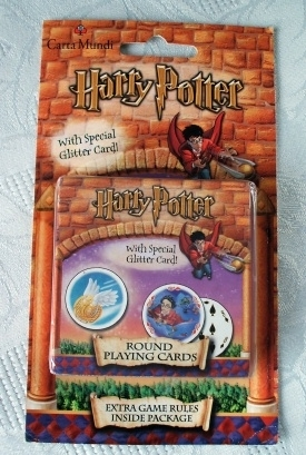 Carta Mundi Harry Potter Round Playing Cards. RARE!
