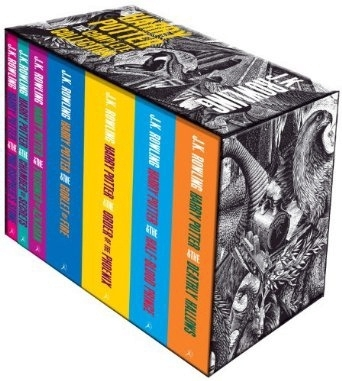Harry Potter Complete Boxset Collection (Adult Paperback)
