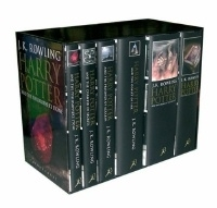 Harry Potter, UK First Edition, Adult Cover 6 Book Box Set.