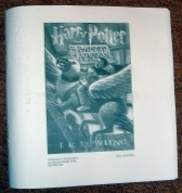 J K Rowling's Harry Potter and the Prisoner of Azkaban. BRAILLE