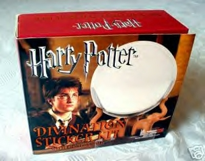 Harry Potter Magical Divination Crystal Ball and Sticker Kit