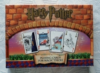 Harry Potter Playing Cards for Magic Tricks Carta Mundi 2001