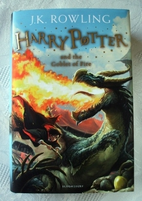 Harry Potter Goblet of Fire Bloomsbury 2014 First Edition