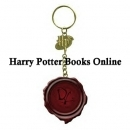Harry Potter, Dumbledore's Army Seal, Keychain, Rare!