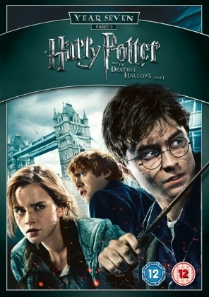 Harry Potter & the Deathly Hallows (Part 1) UK PAL Region 2 DVD