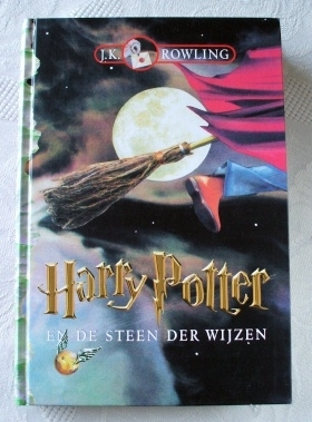 Harry Potter EN DE STEEN DER WIJZEN (Dutch) Hardback Edition