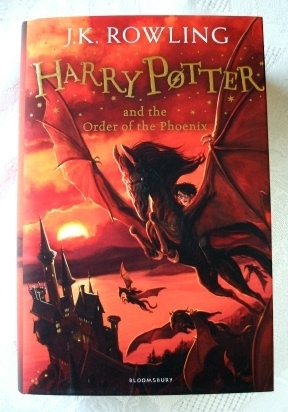 Harry Potter Order of the Phoenix Bloomsbury 2014 First Edition