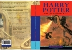 Harry Potter & the Goblet of Fire. Rare Printers PROOF Artwork.
