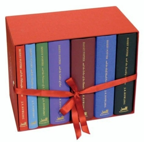 Harry Potter, UK Deluxe 7 Book Boxed Set (Special Edition)