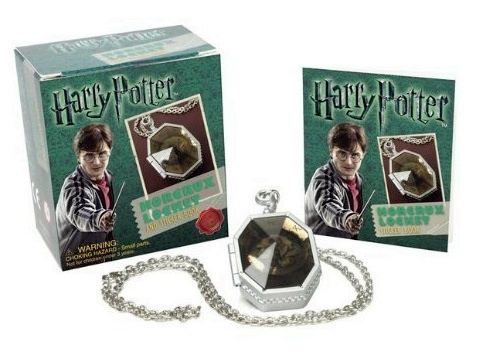 Harry Potter Slytherins Locket Horcrux Kit & Mini Sticker Book