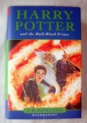 Harry Potter and the Half-Blood Prince UK Hardback First Edition