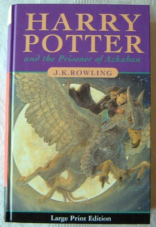 Harry Potter and the Prisoner of Azkaban UK First Edition.