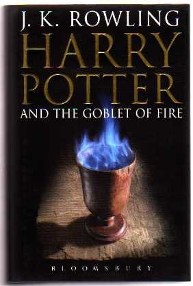 Harry Potter and the Goblet of Fire (Adult Cover) UK 1st/1st Ed.