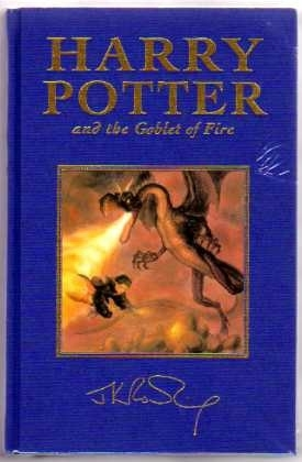 Harry Potter and the Goblet of Fire. (UK Deluxe First Edition)