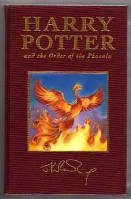 Harry Potter and the Order of the Phoenix (UK Deluxe First Ed)