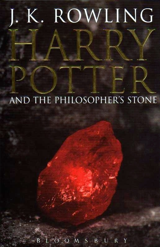 Harry Potter and the Philosophers Stone UK Adult Cover First Ed.