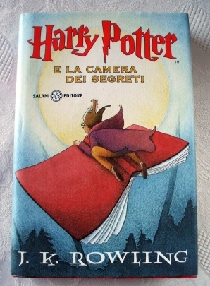Harry Potter e La Camera Dei Segreti (Italian) Hardback Book