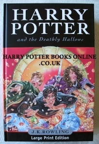 Harry Potter and the Deathly Hallows. UK Large Print 1st Ed.