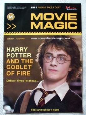 Rare Movie Magic Magazine Harry Potter Goblet of Fire Cover 2005